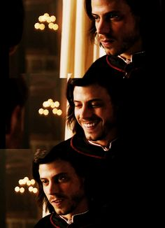 Francois Arnaud as Cesare Borgia in Showtime's The Borgias.  #CesareBorgia #Borgias #FrancoisArnaud