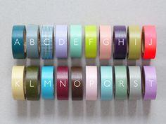 £3.45 Coloured Masking Tapes