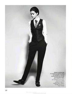 `.Jyothsna Chakravarthy in Vogue India, November 2011.