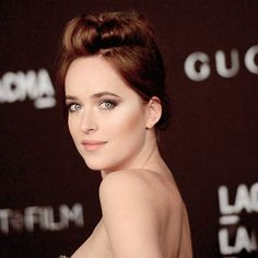 Dakota Johnson attends LACMA Art & Film Gala 2014 on November, 01.