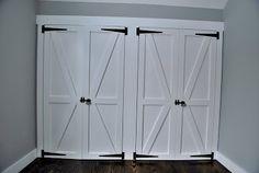 Barn Door Closet Doors Design
