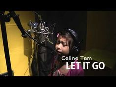 ▶ Let It Go - 6 yrs old Girl Vocal Cover - Frozen by 谭芷昀 Celine Tam - YouTube