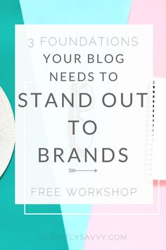 Are you a beginner blogger who wants to build a strong foundation for your brand? Here's how to brand your blog and monetize your blog for beginners. Blog with purpose, intention, and a mission to stand out to brands as a blogger.