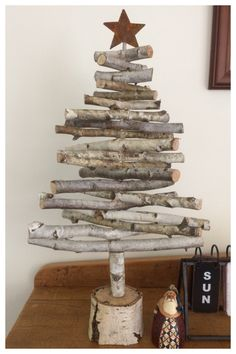 Birch Christmas Tree.. our latest creation :)