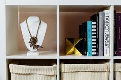 Pieces from the M. Flynn collection pop up all over the space.