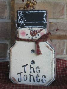 Snowman Concrete Steping Stones ~ Find At Lowes Or Home Depot