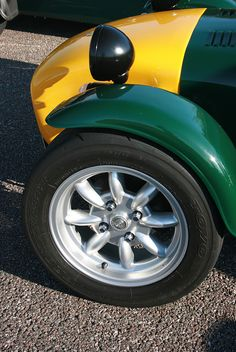 Minilite wheel on Lotus 7 | Flickr - Photo Sharing!