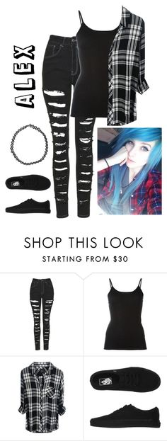"""""""MDE -Alex"""" by hold-on-til-may ❤ liked on Polyvore featuring The Ragged Priest, Petit Bateau, Vans and Boohoo"""