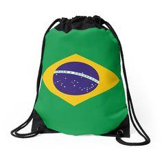 68202085bb  Brazil   Drawstring Bag by o2creativeNY