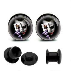 Acrylic Piercing Ear Plug, UV  tunnel  ear  plugs,ear plugs jewelry,guage earrings,fake gauge plugs,small ear plugs on Etsy, £7.29