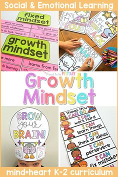 Teach children about their elastic brain, a fixed mindset and growth mindset, perseverance, learning from mistakes, failures, challenges, and the power of YET. Children will make their own 'Grow Your Brain' crown and develop a growth mindset through discussions, writing, and hands-on activities. #sel #socialemotionlearning #classroommanagement #charactereducation #socialskills #growthmindset Teaching Respect, Teaching Kids, Kids Learning, Kindergarten Classroom Management, Classroom Ideas, Character Education Lessons, Growth Mindset Activities, Hands On Activities, Reading Activities