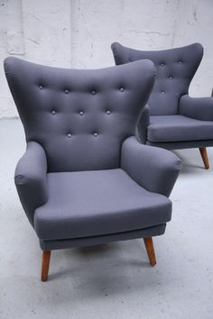 G Plan Modernist Pair Arm Chairs