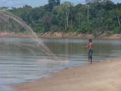 Pesca com sarrafo no Acre