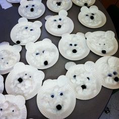 Polar bear craft my students made