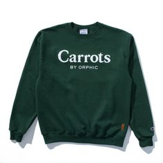 Carrots for orphic crew neck - Forest Green – Carrots By Anwar Carrots