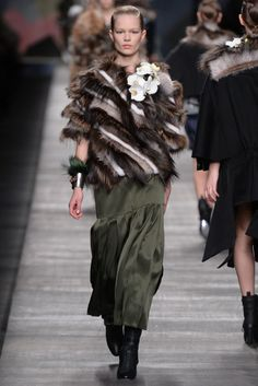 flowers, cuff, hair. Fall 2014 Collections: The Trends - Slideshow - WWD.com