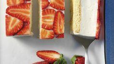 20 Minuten - Gâteau à la mousse de séré aux fraises - Recettes