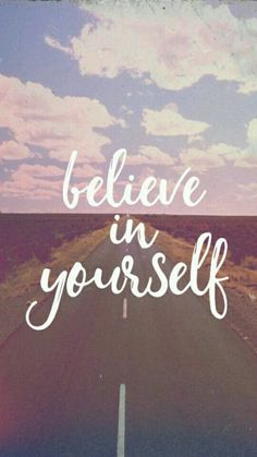Believe Background And Quote Image