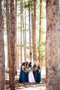 Devil's Thumb Ranch Wedding from Swank Stems and Jenna Walker via Style Me Pretty