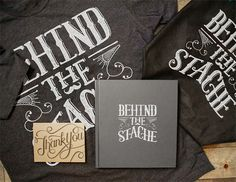 Behind The Stache by Ligature Collective, via Behance