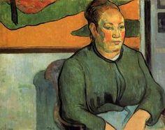 Madame Roulin - (Paul Gauguin)
