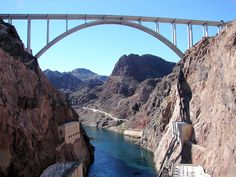 Hoover Dam Bridge at Hoover Dam