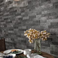 For a dramatic stylish feature wall see the gorgeous range of Ordino split face tiles. These striking black split face tiles are one of 5 colours available. Made from quality porcelain they are hard wearing and make beautiful interior or exterior wall tiles.