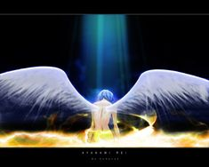 Rei Ayanami from Evangelion. I love her!!! The anime is EPIC! I'd love to get this as a Tattoo.