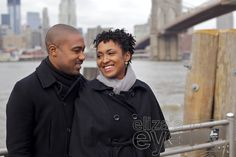 Brooklyn engagement photo shoot at the Brooklyn Bridge © Eliza's Eye Family Photography, Brooklyn, NY