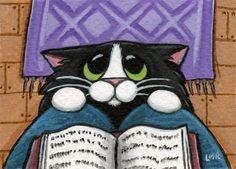 Позитивные рисунки котиков от от Lisa Marie Robinson