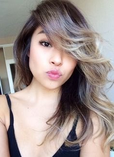 Super ash brown almost grey hair on asian skin pinteres blonde ombr on asian hair solutioingenieria Image collections