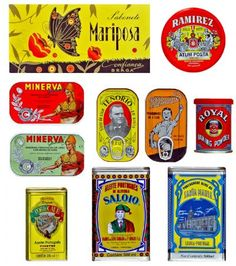 Perfectly Packaged - Ongoing at Galeria Corte-Real in Paderne - a display featuring some of Portugal's most iconic packages. Created early in the 20th century by the country's first commercial artists, they exemplify fashionable motifs and illustrations of the era.  From The Algarve Resident, August 2012