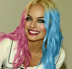 Sexy eyes, beautiful lips, cute smile~Harley nailed it Margot Elise Robbie, Actress Margot Robbie, Margo Robbie, Margot Robbie Harley Quinn, Harley Quinn Comic, Harley Quinn Cosplay, Joker And Harley Quinn, Gal Gadot, Belle Photo