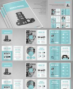 Business brief proposal template design editorial pinterest image result for proposal design template cheaphphosting Images