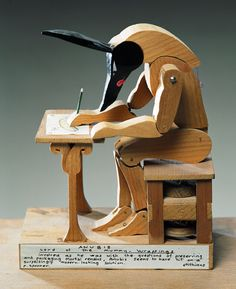 Sausage Drawer by Paul Spooner. Anubis themed automaton.