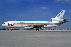 Western DC-10-10 N908WA MIA