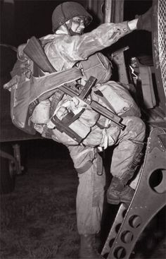 """This is My Great Uncle William """"Bill"""" Mowson of the 101st Airborne during WWII. It's crazy to find him on Pinterest!"""