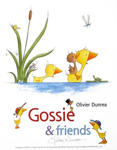 Romp, tromp, and stroll around the barnyard with the lovable gaggle of Gossie & Friends. The first six stories from Gossie's world are collected in this bright and sturdy bind-up, perfect for emerging readers. Friends Poster, The Barnyard, Friend Book, Down On The Farm, Library Card, Reading Levels, Childhood Memories, Childrens Books, Artist