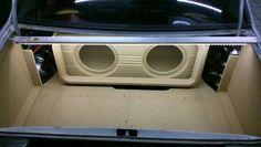 Custom Car Audio, Custom Cars, Car Sound Effects, Custom Subwoofer Box, Car Audio Installation, Honda Accord Sport, Sub Box, Car Audio Systems, Car Sounds
