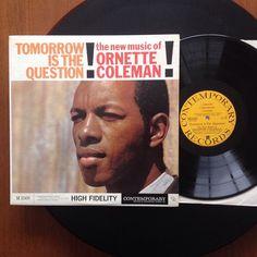 1959 Ornette Coleman 2nd LP to start this Saturday.. Nice US mono first press!! #ornettecoleman #jazz #freejazz #doncherry #1959 by donaldfleenstein
