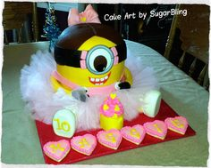 This custom cake was created by SugarBling a cake boutique