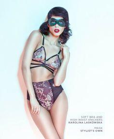@Karolina Laskowska lingerie in Kaltblut Magazine