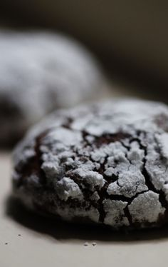 Small Batch Chocolate Crinkle Cookies