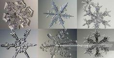 Eğlenceli Gerçekler   Her bir kar tanesi eşsizdir