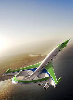 NASA/Lockheed Martin Supersonic Green Machine. A lot of design to stremline