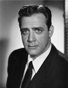 Raymond Burr is Perry Mason...I LoOoVe Perry Mason!!! #hedon'tlikemytype #DVRhim #eveningcouchdates