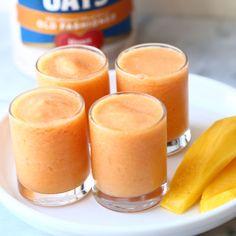 Oat-Pear-Berry Smoothie - Recipe | QuakerOats.com