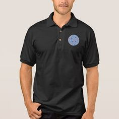 Chinese Lanterns Men's Polo Shirt - black gifts unique cool diy customize personalize
