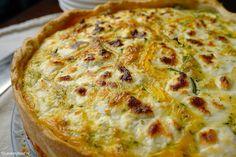 Lente quiche met courgette en geitenkaas 4