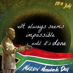 """Nelson Mandel Day 